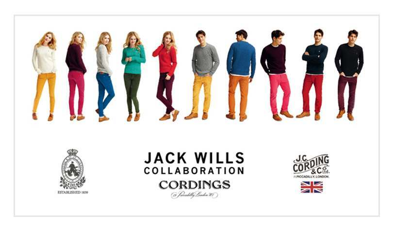 Jack Wills' and Cordings