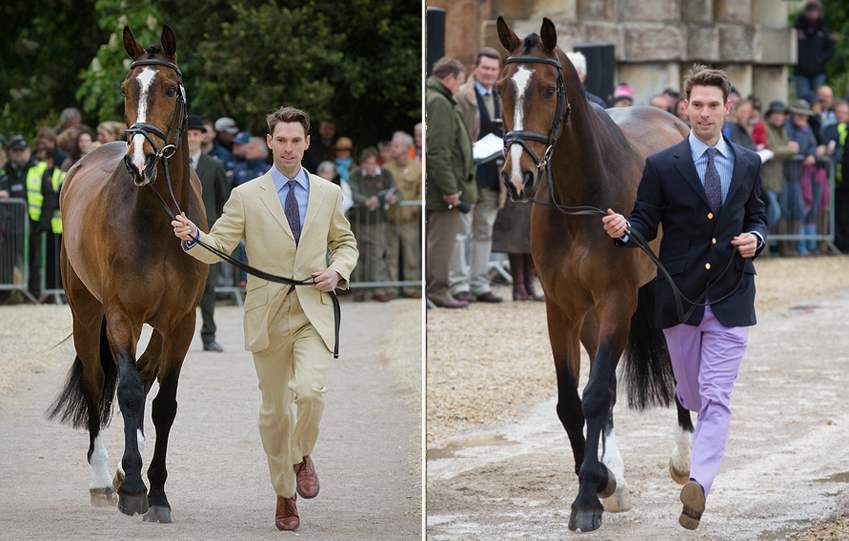 Harry Meade, wearing Cordings with Wild Lone 2014