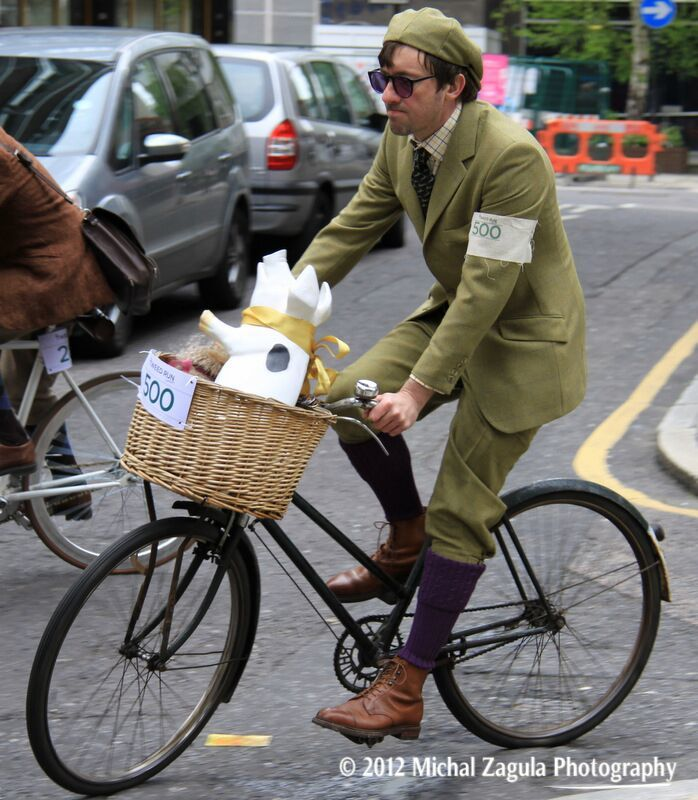 The Tweed Run. A Brilliantly British Event.