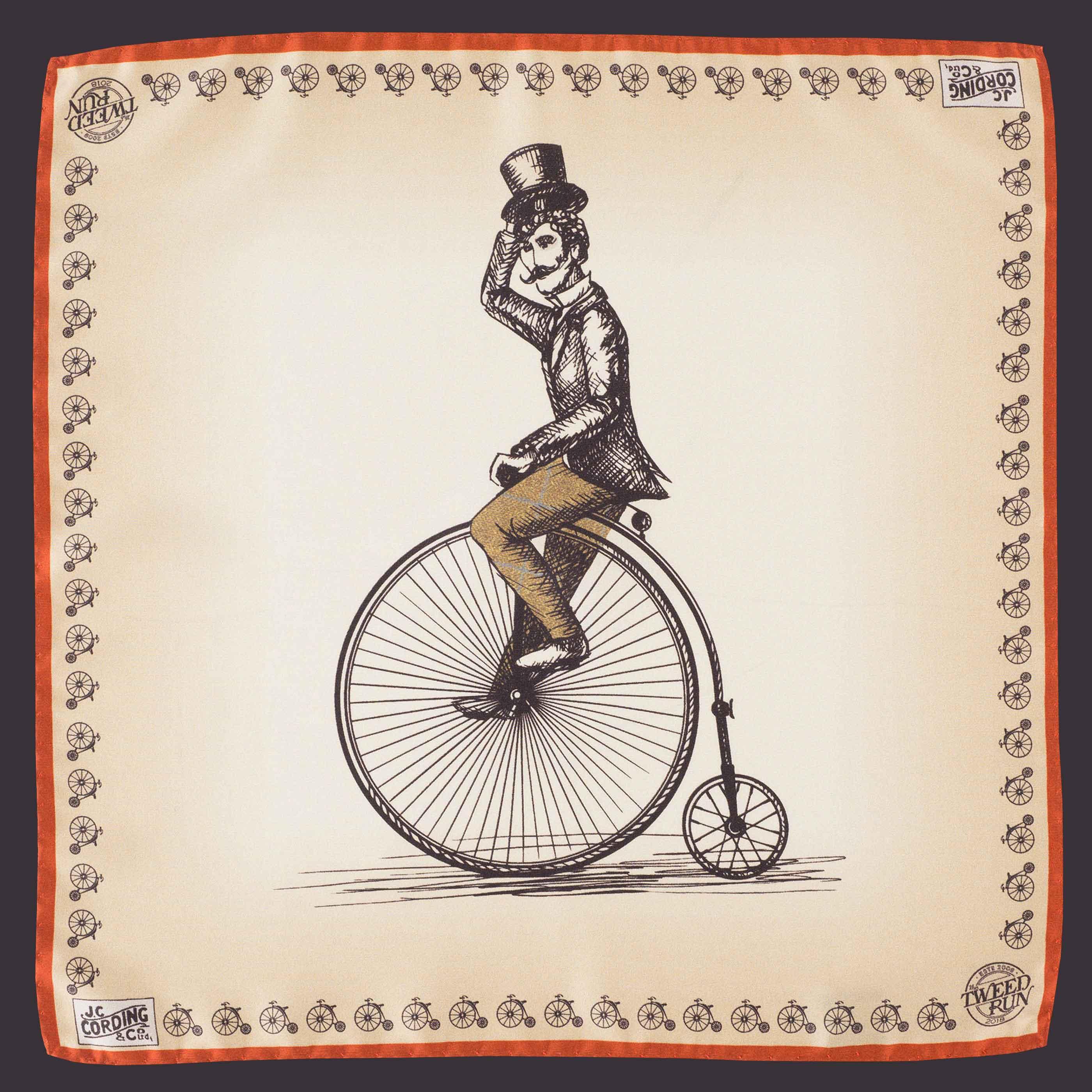 Introducing the Tweed Run 2018 Handkerchief