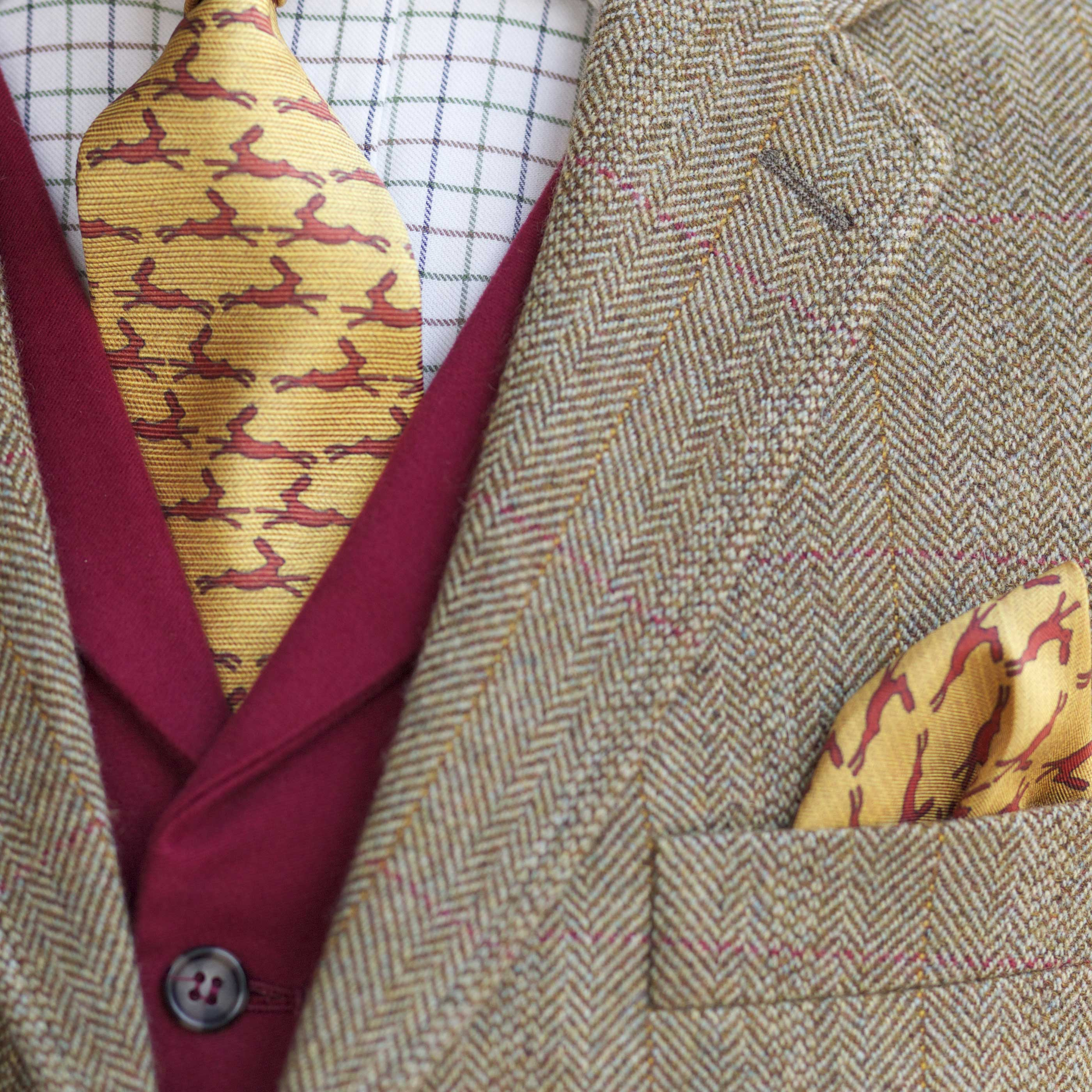 Tweed Wedding Suits For A Dapper Chap