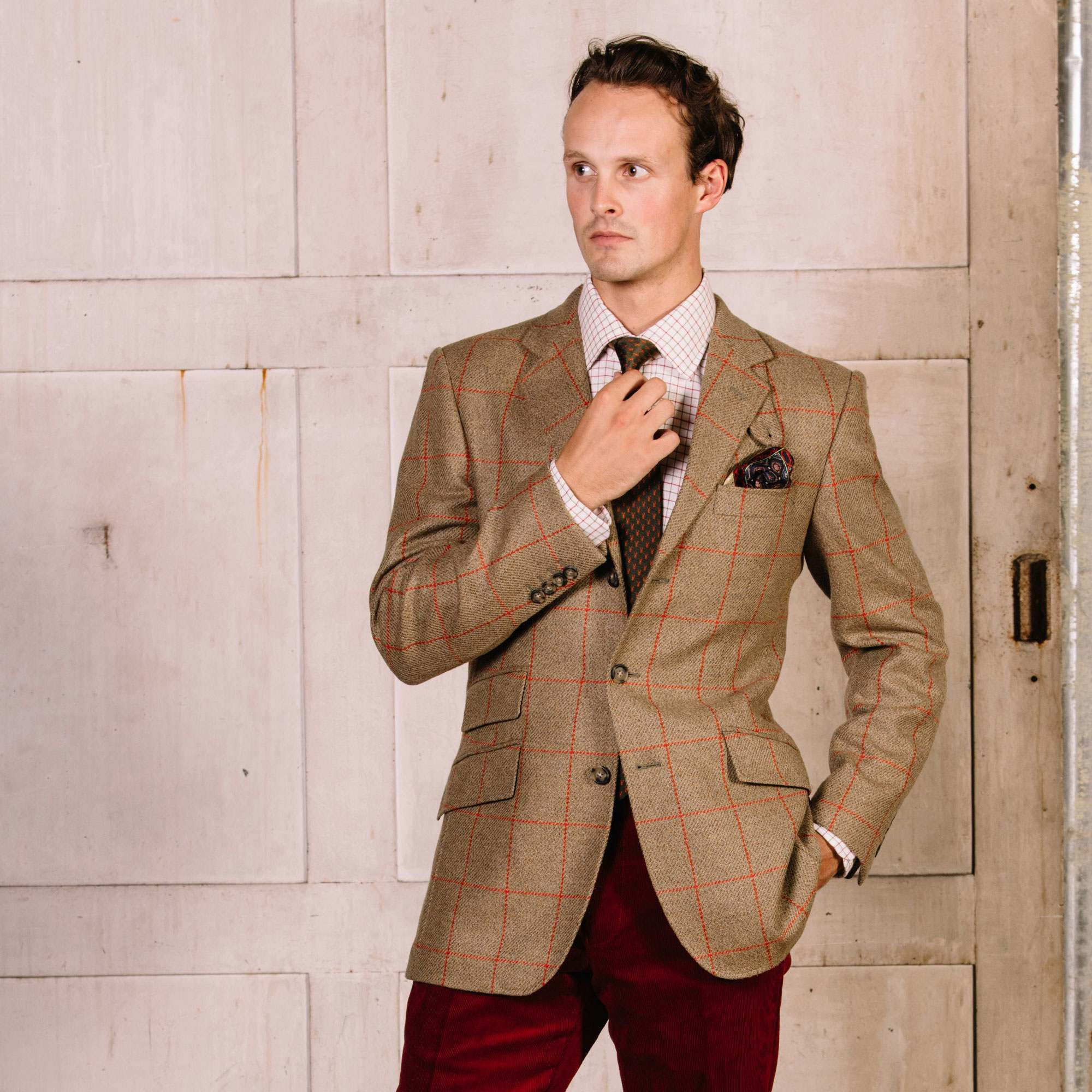The Ilkley Tweed Jacket – performance and style.