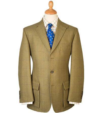 Tweed Action Back Shooting Jacket