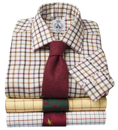 Tattersall Check Country Shirts