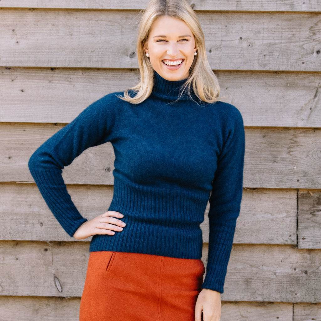 Women's possum wool jumper