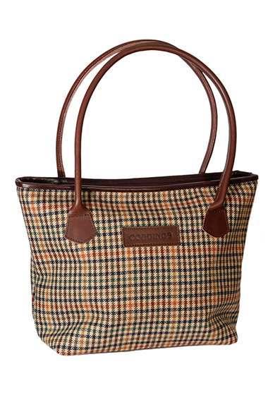 Bucket Style Classic British Wincanton Hurdler Handbag
