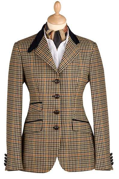 Traditional British Tweed Jacket
