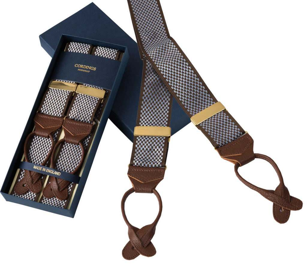 suit trouser braces by cordings