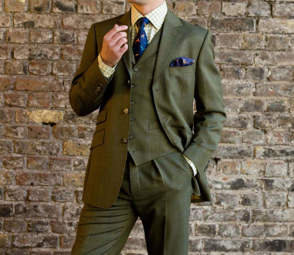 lightweight british tweed suit