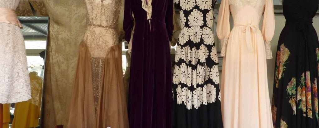 Chez Sarah dresses used by Downtown Abbey Wardrobe department