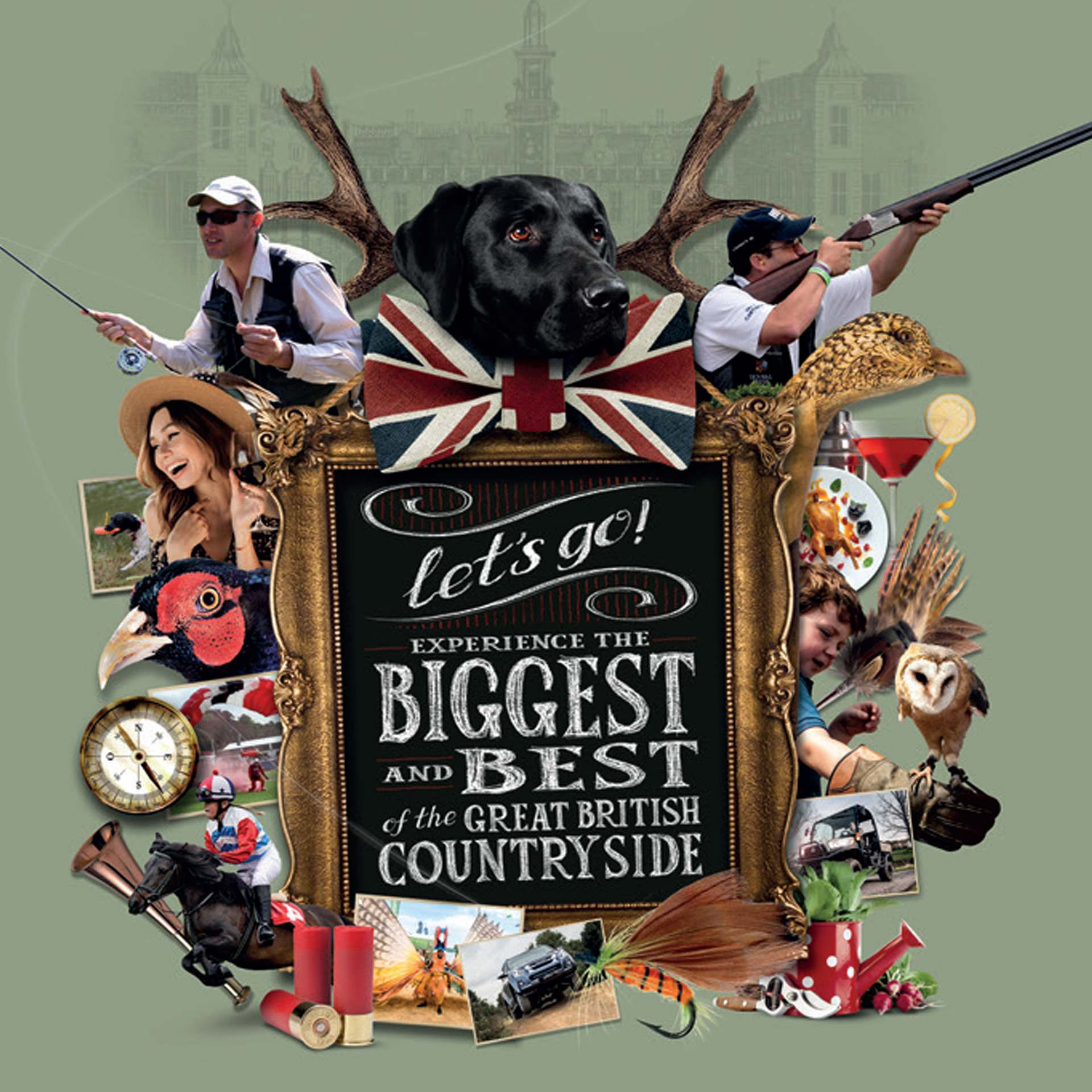 The Game Fair: 26th – 28th July Hatfield House, Hertfordshire