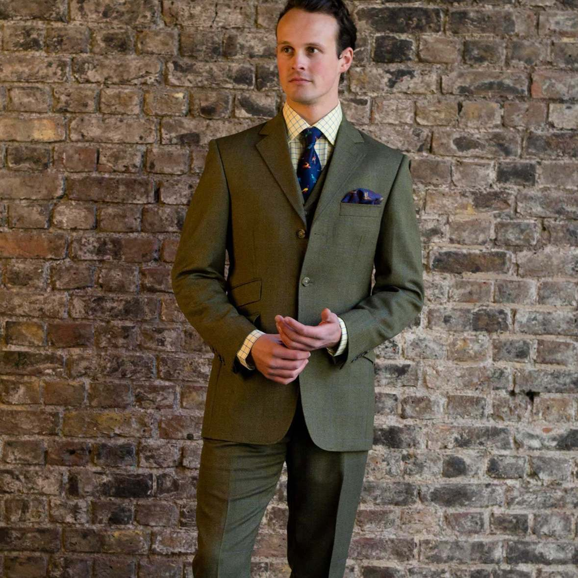 Elland Tweed Suit