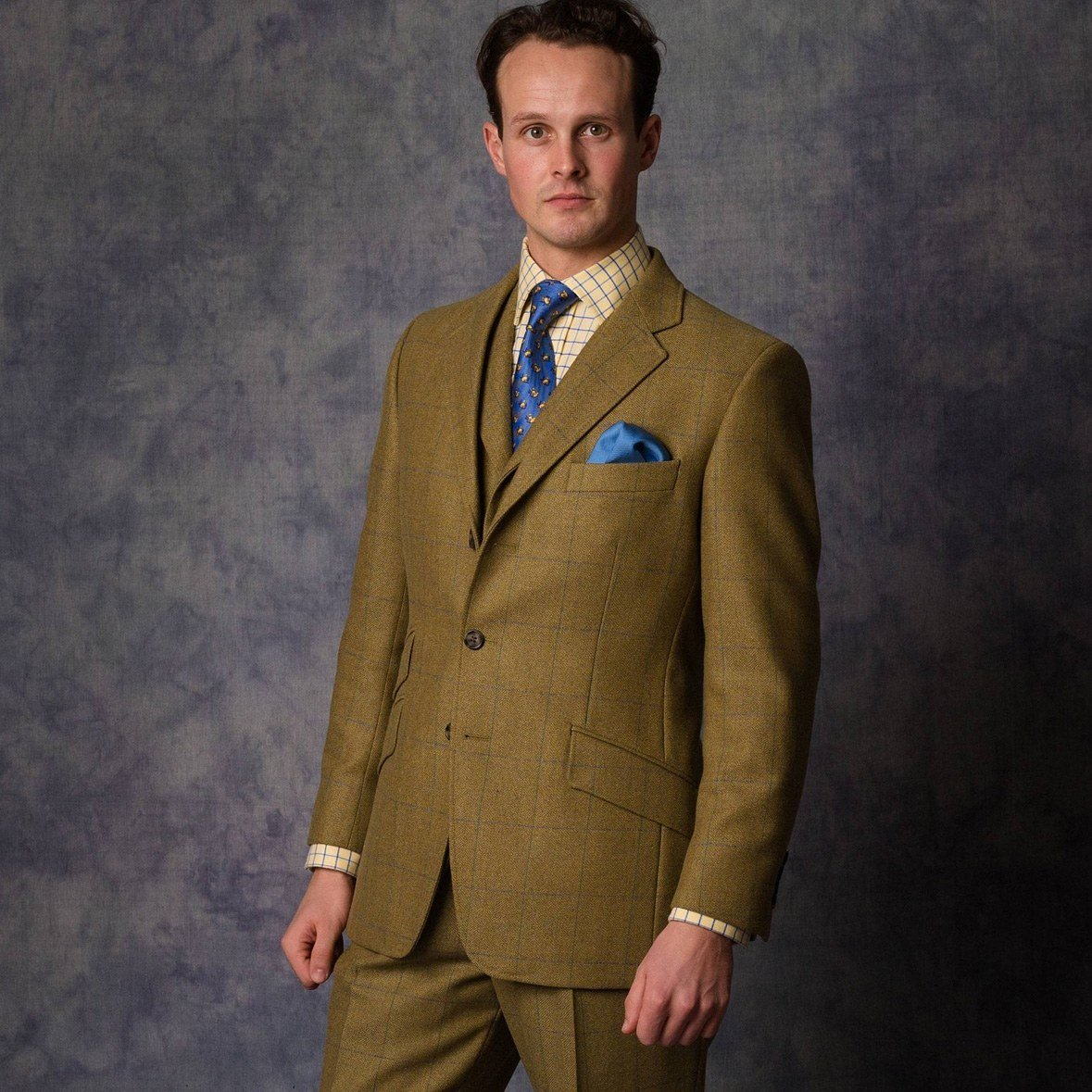 House Check tweed Suit