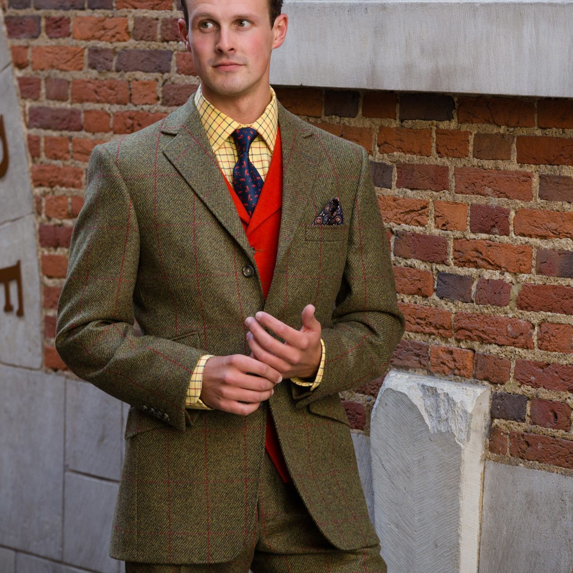 Thorner Tweed Suit