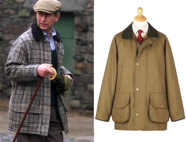 Prince Charles sporting a field jacket