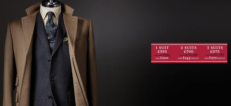 Autumn Suit Promotion