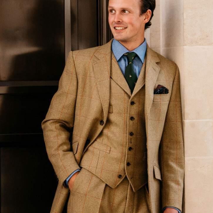 Jones Marl Tweed Suit