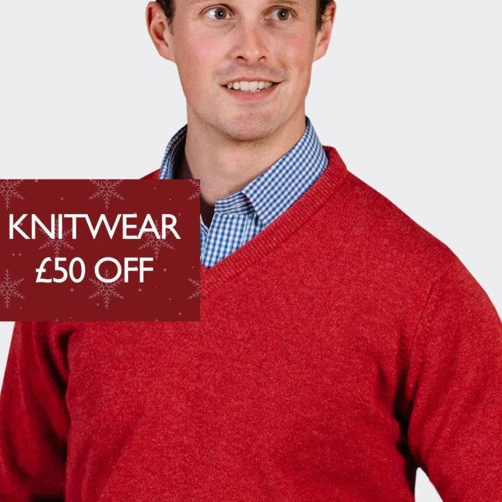 Knitwear £50 Off