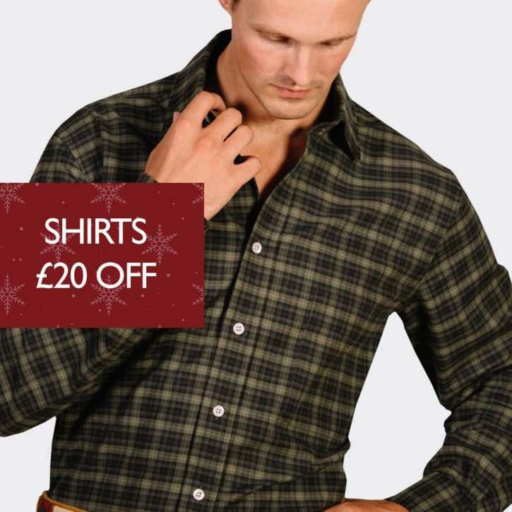 Shirts £20 Off