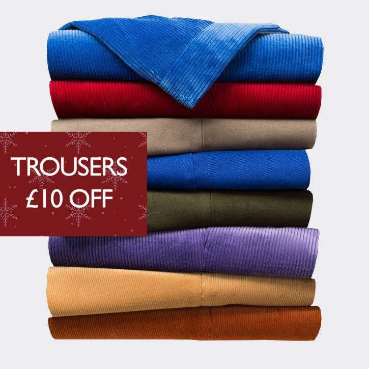Trousers £10 Off