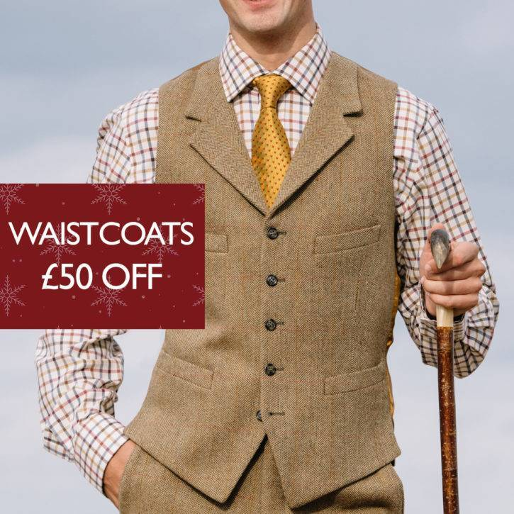 Waistcoats £50 Off