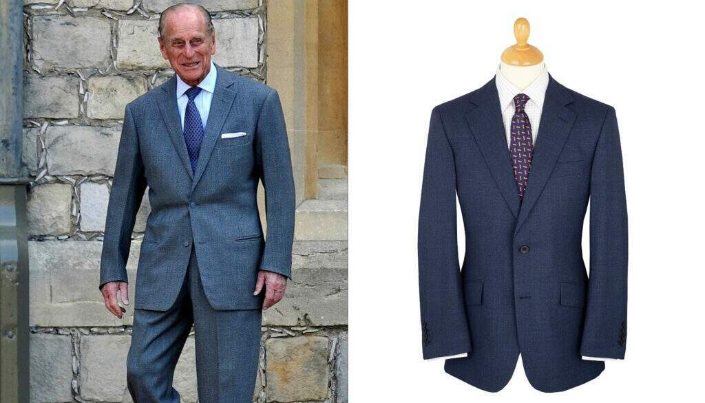 Prince Philip. Immaculately cut, sleek and dapper, he sometimes had them tweaked to keep the lines contemporary.