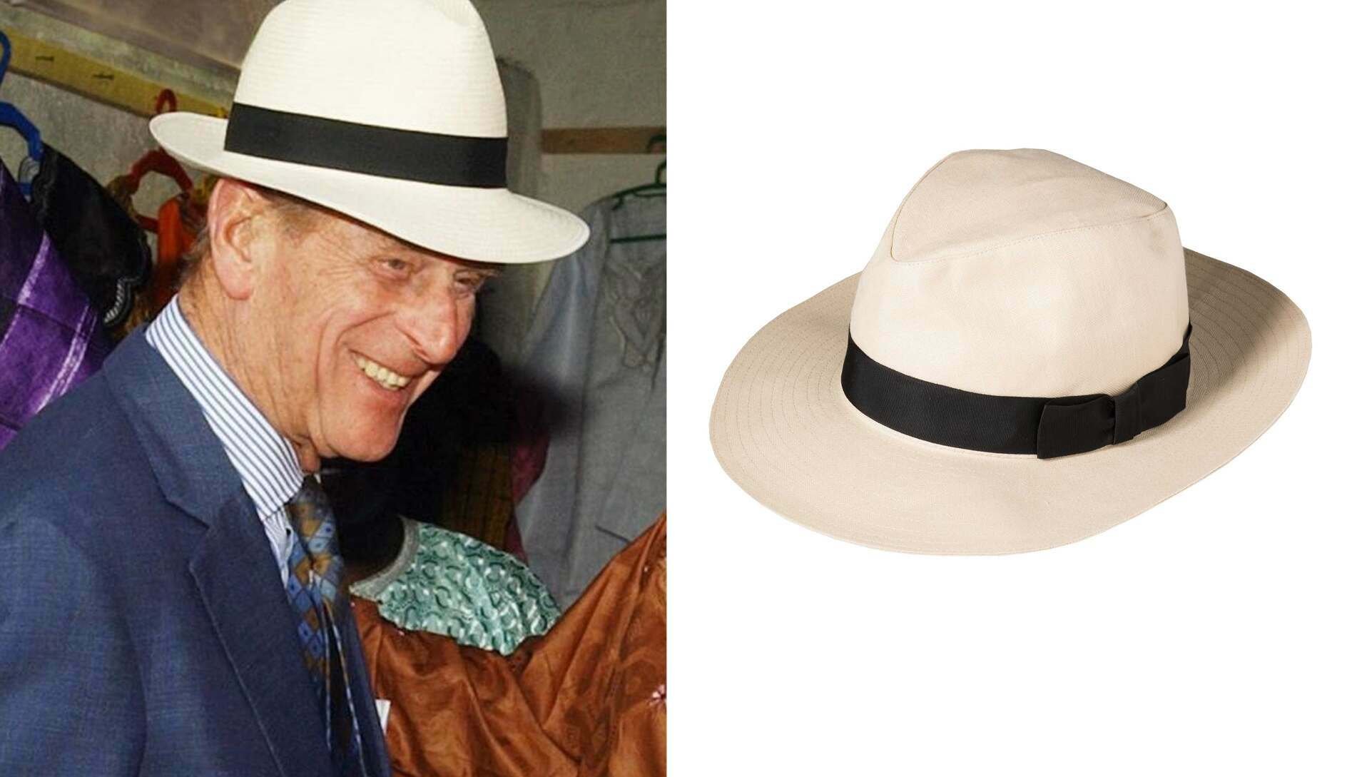 When the sun came out, the Duke could often be spotted keeping it cool in a jaunty fedora.